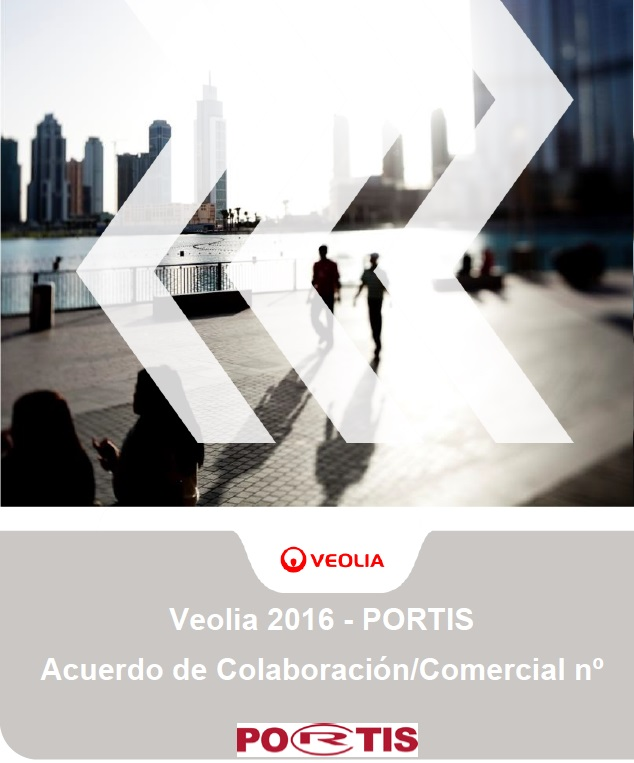 Portis suscribe un importante acuerdo marco de colaboración con Veolia