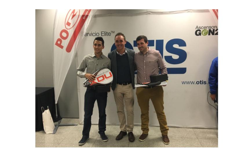 El equipo de Euromaster, nuevo campeón del III Torneo Pádel OTIS-PORTIS Octubre 2016