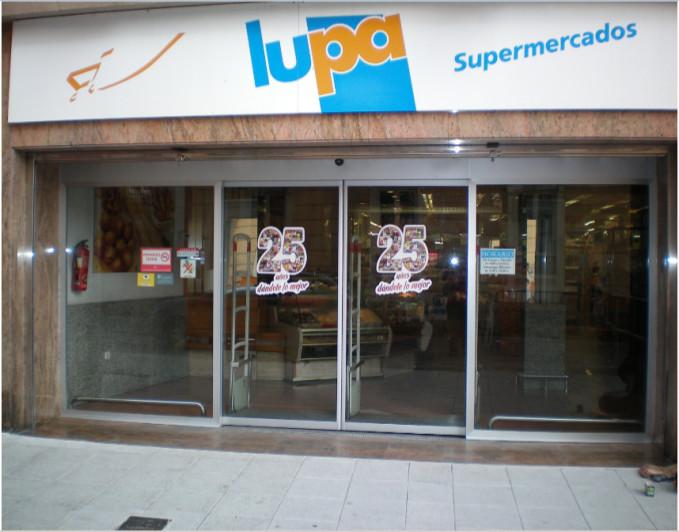 Portis contrata el mantenimiento de las puertas automáticas de la cadena de supermercados Lupa