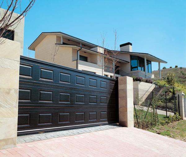 Puertas basculantes abatibles y correderas portis - Puerta corredera abatible ...