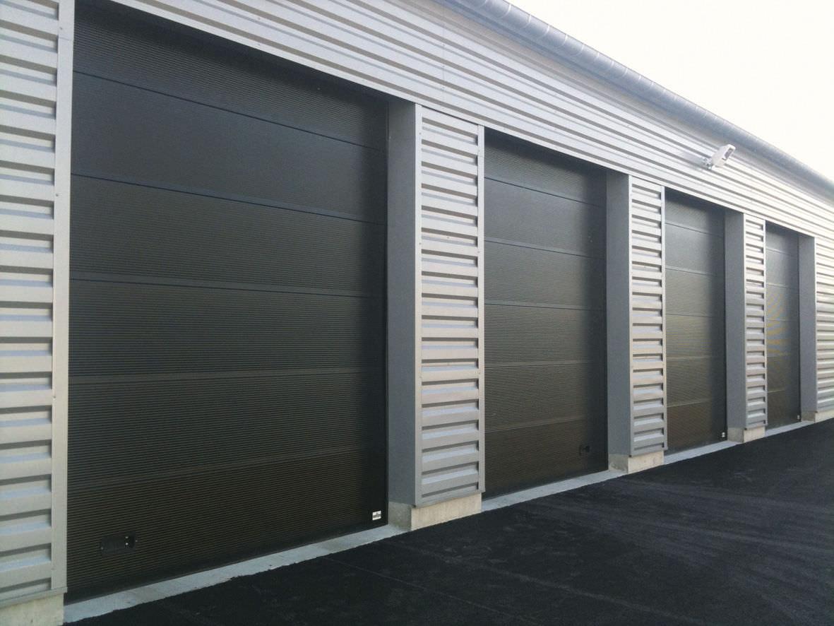 Puertas seccionales industriales portis for Porte garage toulousaine