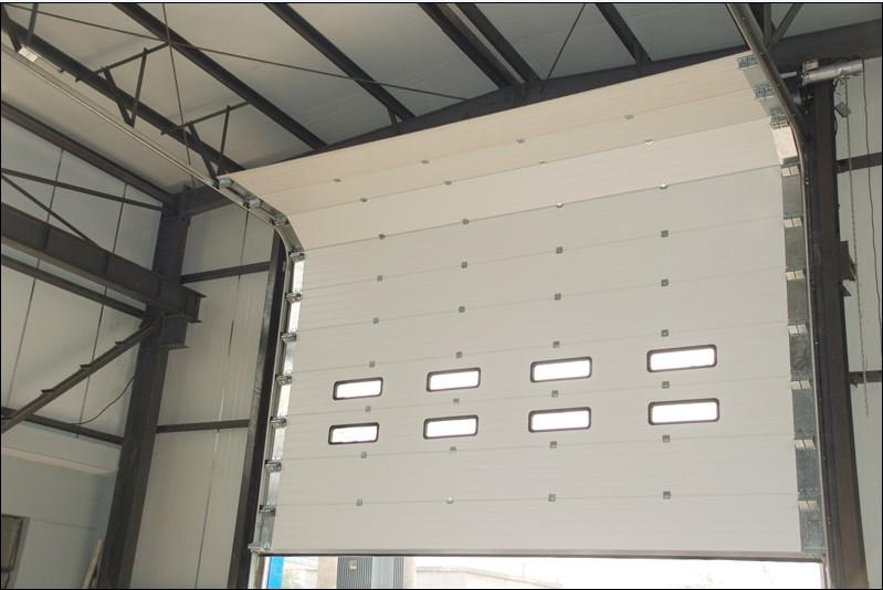 Puertas seccionales industriales portis - Puertas para naves industriales ...