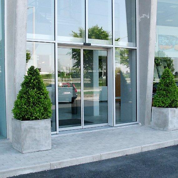 Puertas correderas de cristal portis - Puertas correderas grandes ...