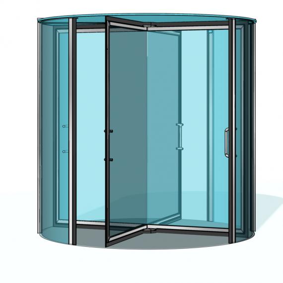 Puerta giratoria Talos RDR-S01